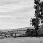 Guillaumin Vue d'Auvers 1874